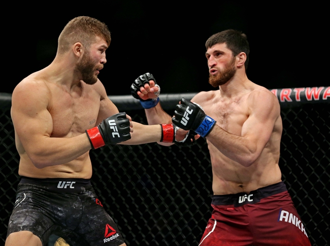 Ion Cutelaba vs. Magomed Ankalaev - 8/29/20 UFC Vegas 8 Pick, Odds, and Prediction
