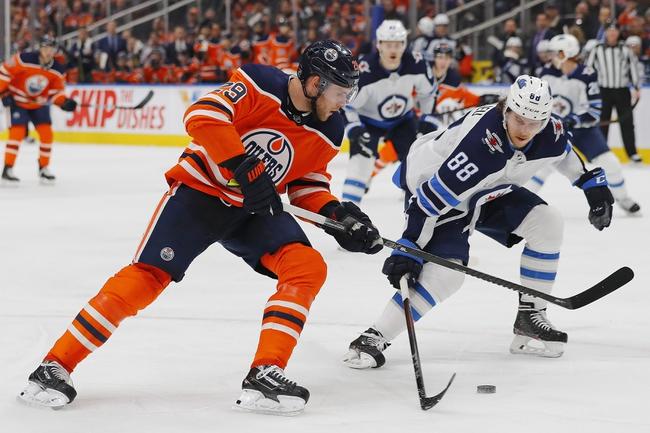 Winnipeg Jets at Edmonton Oilers - 3/11/20 NHL Picks and Prediction