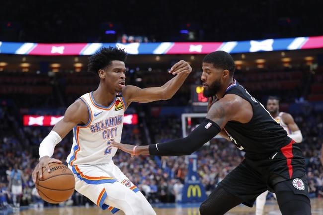 Los Angeles Clippers vs. Oklahoma City Thunder - 8/14/20 NBA Pick, Odds, and Prediction