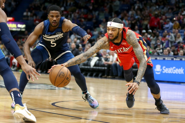 Minnesota Timberwolves vs. New Orleans Pelicans - 3/8/20 NBA Pick, Odds, and Prediction