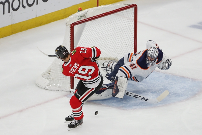 Chicago Blackhawks at Edmonton Oilers - 8/1/20 NHL Picks and Prediction