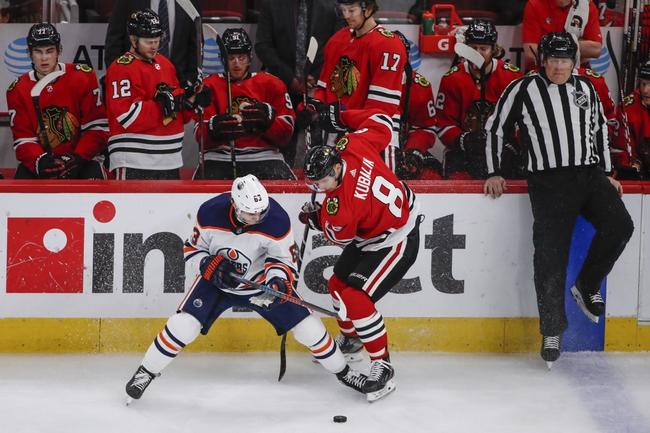 Chicago Blackhawks at Edmonton Oilers - 8/1/20 NHL Picks and Prediction