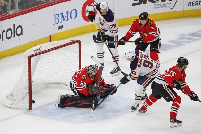 Edmonton Oilers  vs. Chicago Blackhawks - NHL Playoff Series Pick, Odds, and Prediction