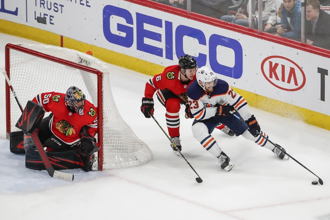 Edmonton Oilers vs. Chicago Blackhawks - 8/3/20 NHL Pick, Odds, and Prediction