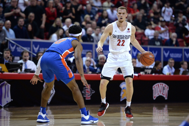 Utah State vs. San Diego State - 3/7/20 College Basketball Pick, Odds, and Prediction