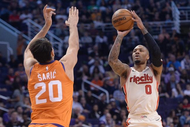 Phoenix Suns at Portland Trail Blazers - 3/10/20 NBA Picks and Prediction