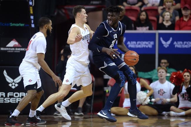 VCU vs Utah State College Basketball Picks, Odds, Predictions 11/25/20