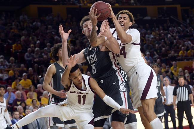Washington State at Arizona State - 3/12/20 College Basketball Picks and Prediction