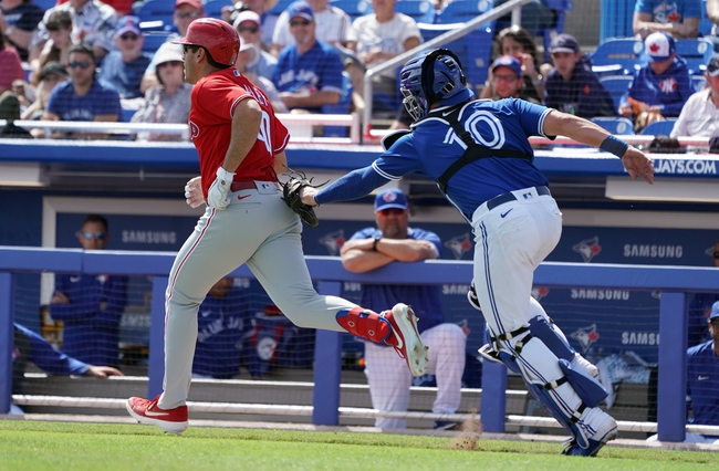 Toronto Blue Jays vs. Philadelphia Phillies Game 1 - 8/20/20 MLB Pick, Odds, and Prediction