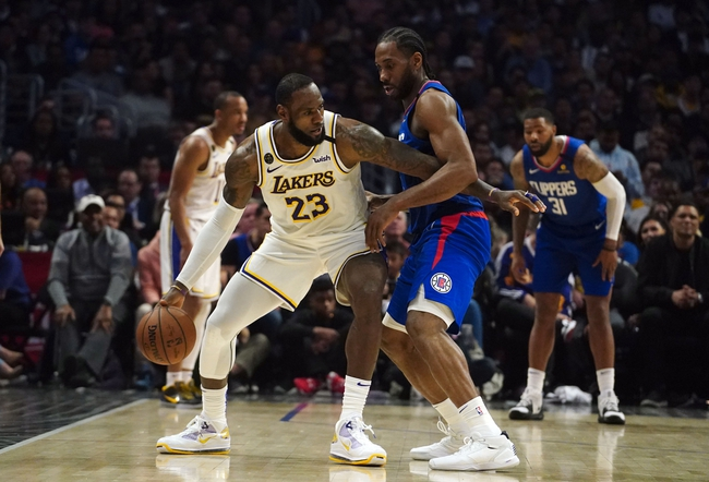 Los Angeles Lakers vs. Los Angeles Clippers - 7/30/20 NBA Pick, Odds, and Prediction
