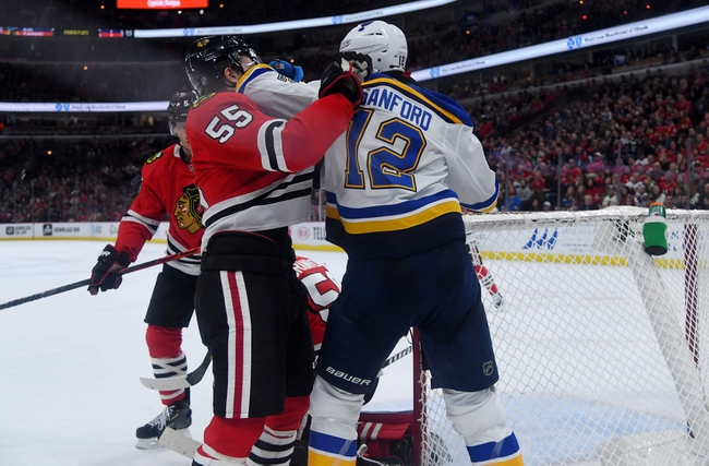 Chicago Blackhawks at St. Louis Blues - 7/29/20 NHL Pick and Prediction