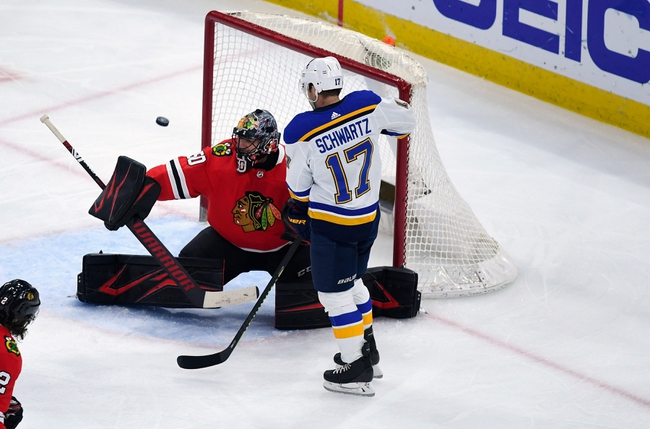 St. Louis Blues vs. Chicago Blackhawks - 7/29/20 NHL Pick, Odds, and Prediction