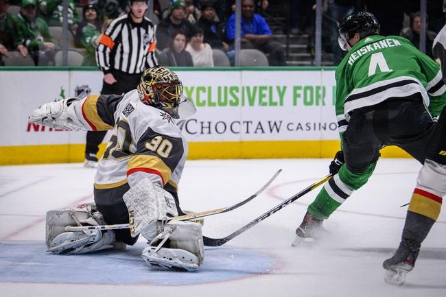 Dallas Stars at Vegas Golden Knights - 8/3/20 NHL Picks and Prediction