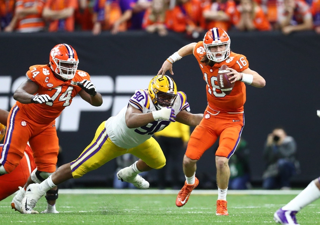 Clemson at Wake Forest - 9/12/20 College Football Game Day Pick, Odds, and Prediction