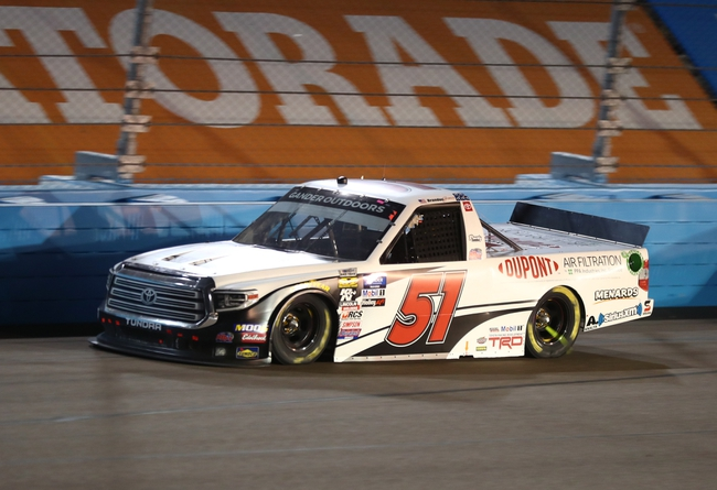 Jeter's NASCAR Truck Series Martinsville Top 3 Pick