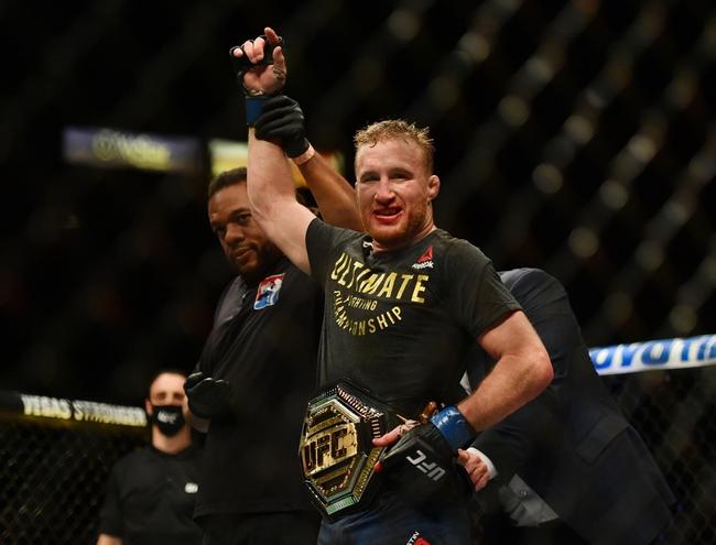 UFC 254: Justin Gaethje vs. Khabib Nurmagomedov Picks, Odds, and Predictions