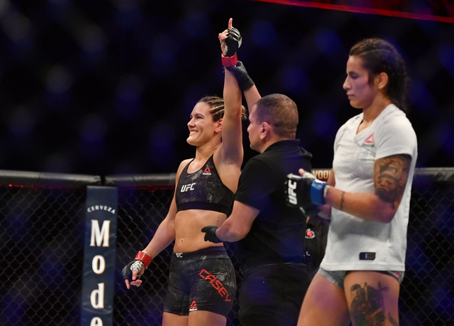 Cortney Casey vs. Gillian Robertson - 6/20/20 UFC Fight Night 173 Pick and Prediction