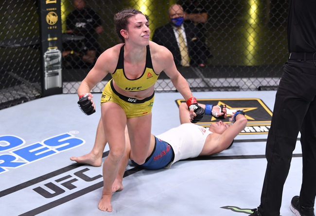 UFC 256: Mackenzie Dern vs. Virna Jandiroba Picks and Predictions