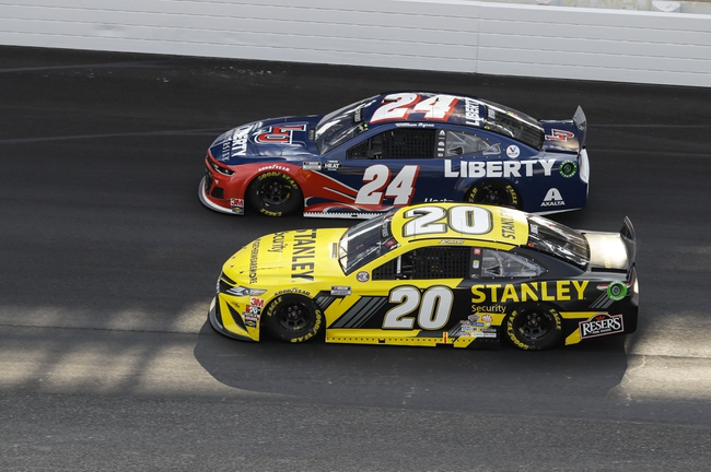Jeter's NASCAR Cup Series AutoTrader 500 Head to Head
