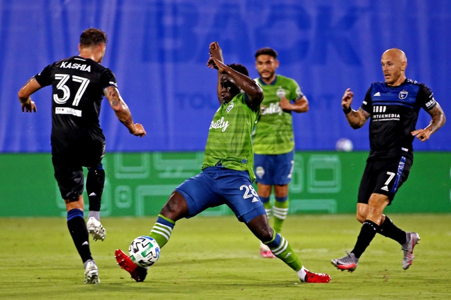 Seattle Sounders vs. Chicago Fire - 7/14/20 MLS Soccer Pick, Odds, and Prediction