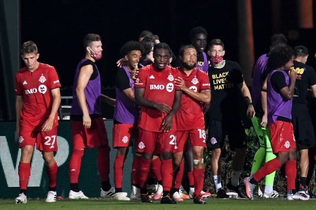 New England Revolution vs. Toronto FC - 7/21/20 MLS Soccer Pick, Odds, and Prediction