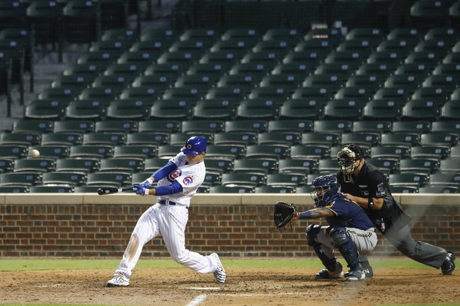 Chicago Cubs vs. Milwaukee Brewers - 7/25/20 MLB Pick, Odds, and Prediction