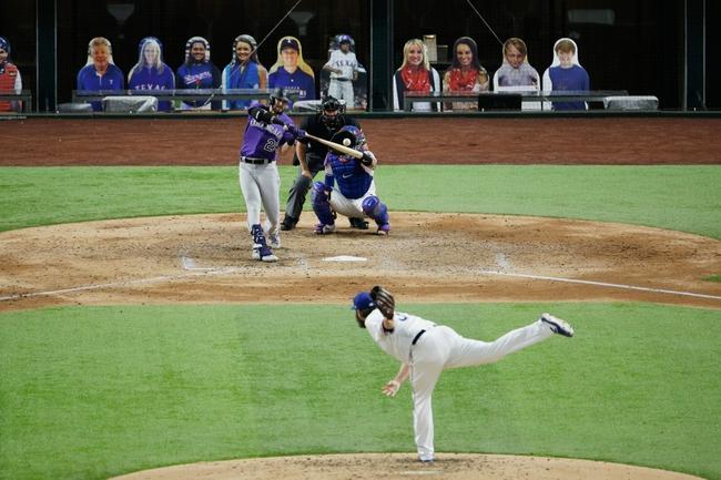 Texas Rangers vs. Colorado Rockies - 7/25/20 MLB Pick, Odds, and Prediction
