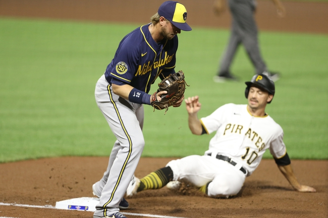 Pittsburgh Pirates vs. Milwaukee Brewers - 7/28/20 MLB Pick, Odds, and Prediction