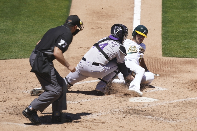 Dana Lane's Oakland Athletics vs Colorado Rockies 'Upper Class Winner'