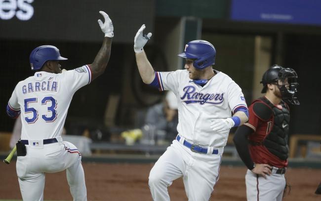 Texas Rangers at Arizona Diamondbacks - 9/22/20 MLB Picks and Prediction