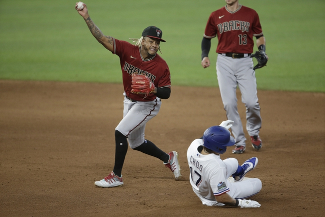 Arizona Diamondbacks vs. Texas Rangers - 9/22/20 MLB Pick, Odds, and Prediction