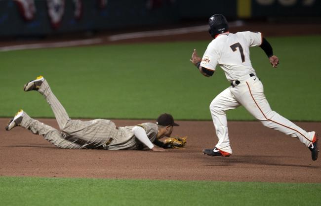 San Francisco Giants at San Diego Padres - 9/10/20 MLB Picks and Prediction