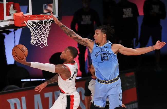 Portland Trail Blazers vs. Memphis Grizzlies - 8/15/20 NBA Pick, Odds, and Prediction