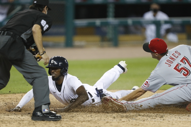 Cincinnati Reds at Detroit Tigers - 8/1/20 MLB Picks and Prediction