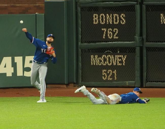 San Francisco Giants vs. Texas Rangers - 8/1/20 MLB Pick, Odds, and Prediction