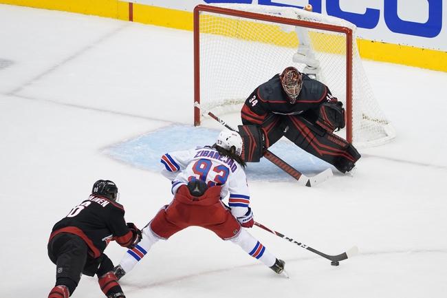 New York Rangers vs. Carolina Hurricanes - 8/4/20 NHL Pick, Odds, and Prediction