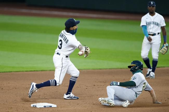 Oakland Athletics at Seattle Mariners Game Two - 9/14/20 MLB Picks and Prediction