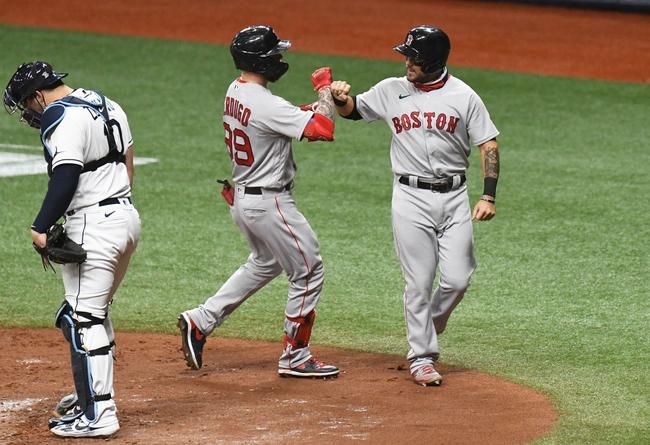 Boston Red Sox vs. Tampa Bay Rays - 8/10/20 MLB Pick, Odds, and Prediction