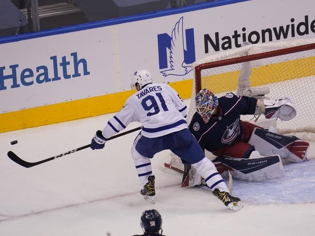 Toronto Maple Leafs at Columbus Blue Jackets - 8/7/20 NHL Picks and Prediction