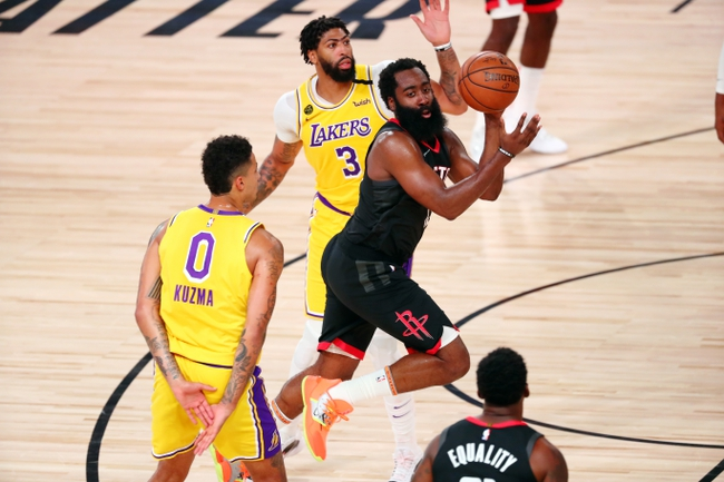 Houston Rockets at Los Angeles Lakers - 9/4/20 NBA Picks and Prediction