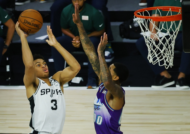 Utah Jazz vs. San Antonio Spurs - 8/13/20 NBA Pick, Odds, and Prediction