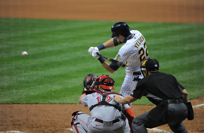 Milwaukee Brewers vs. Cincinnati Reds - 8/8/20 MLB Pick, Odds, and Prediction