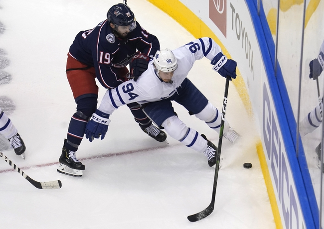 Toronto Maple Leafs vs. Columbus Blue Jackets - 8/9/20 NHL Pick, Odds, and Prediction