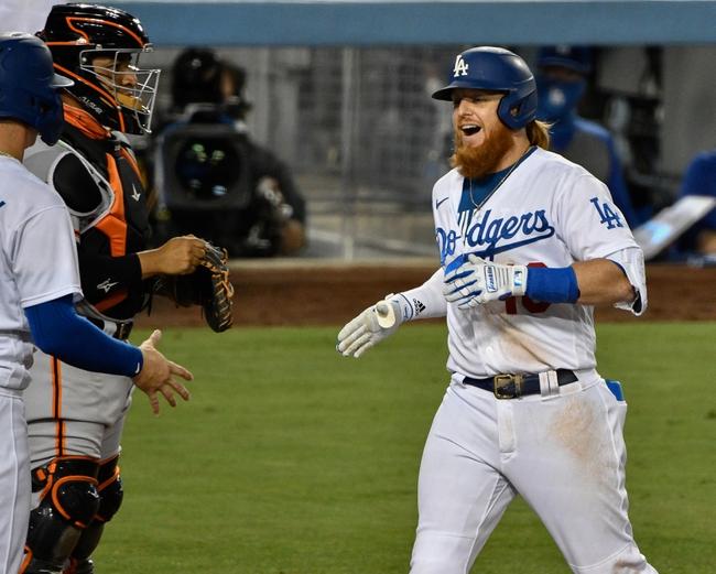 Los Angeles Dodgers vs. San Francisco Giants - 8/9/20 MLB Pick, Odds, and Prediction