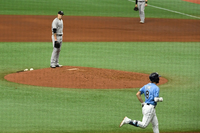 New York Yankees vs. Tampa Bay Rays - 8/18/20 MLB Pick, Odds, and Prediction
