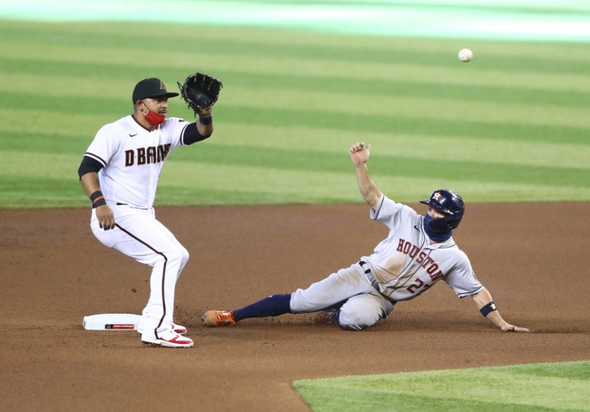Arizona Diamondbacks at Houston Astros - 9/18/20 MLB Picks and Prediction