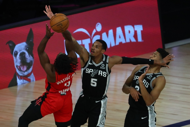 Houston Rockets vs. San Antonio Spurs NBA Picks, Odds, Predictions 12/15/20