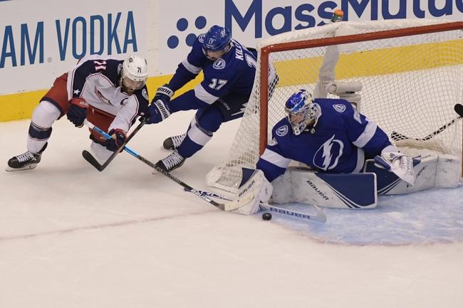 Columbus Blue Jackets at Tampa Bay Lightning - 8/13/20 NHL Picks and Prediction