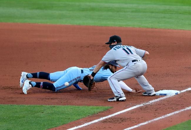 Toronto Blue Jays vs. Miami Marlins - 8/12/20 MLB Pick, Odds, and Prediction