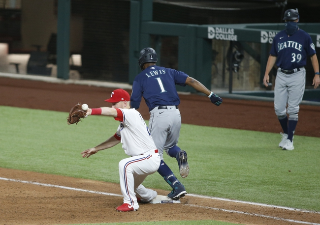 Texas Rangers vs. Seattle Mariners - 8/12/20 MLB Pick, Odds, and Prediction